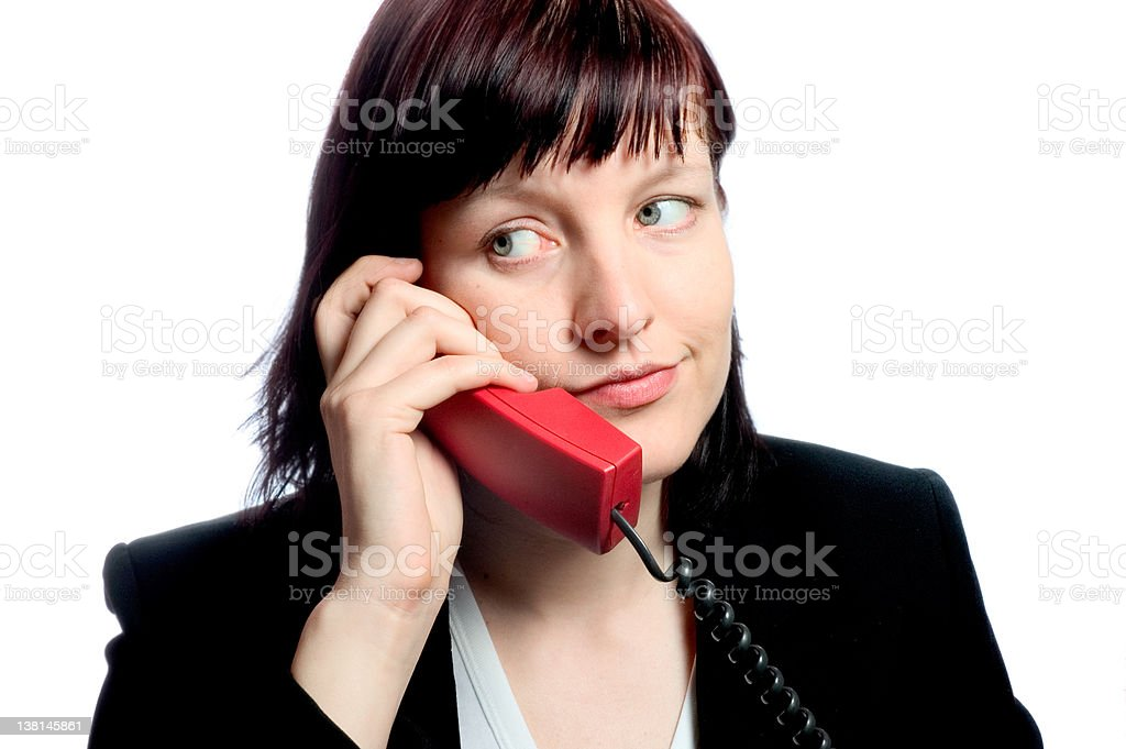 boring call royalty-free stock photo
