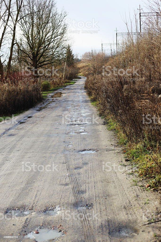 boring road royalty-free stock photo