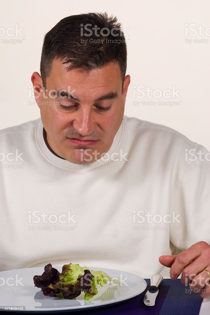 Boring vegetables royalty-free stock photo