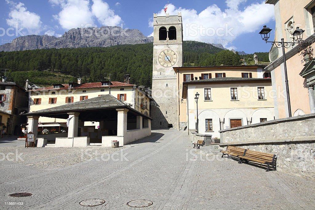 Bormio, Italy stock photo