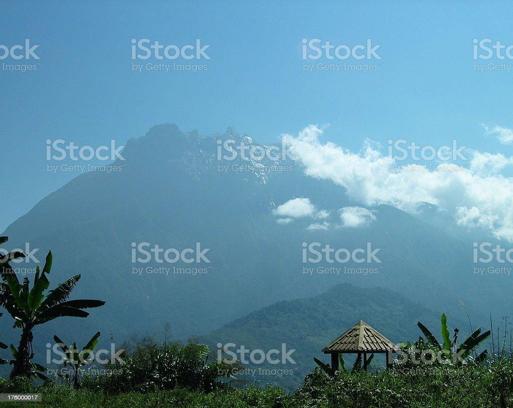 Borneo, Mt. Kinabalu stock photo
