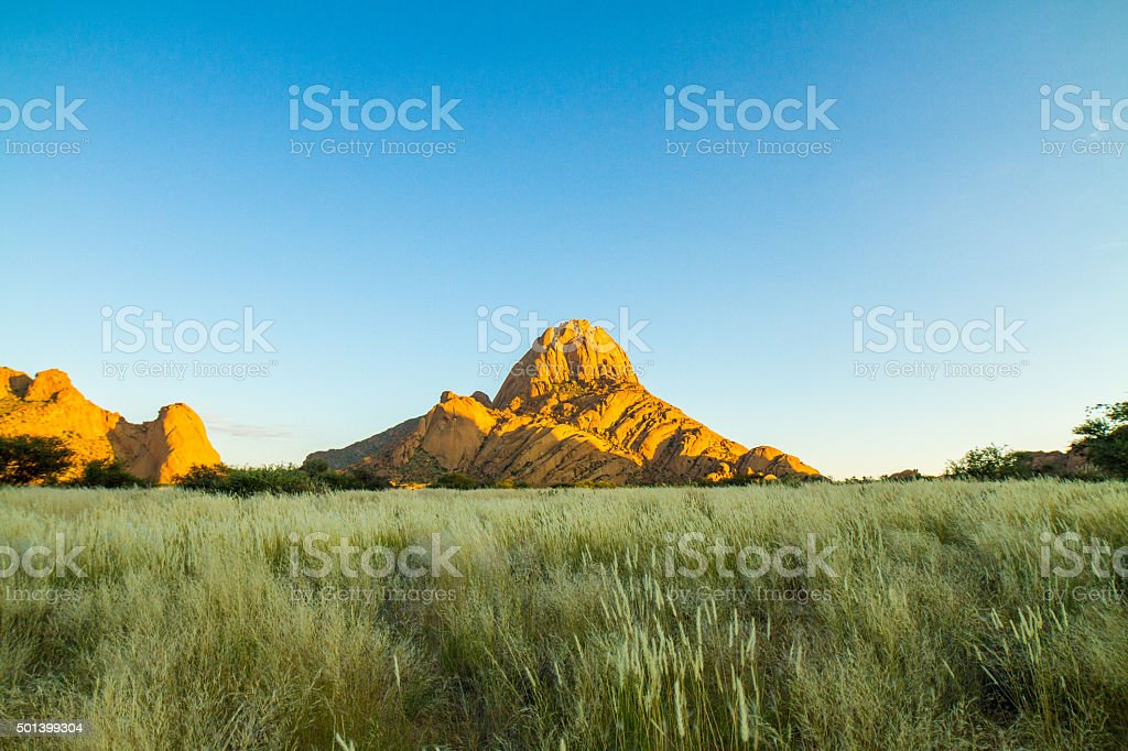 Bornhardts Stand Out From A Steppe stock photo