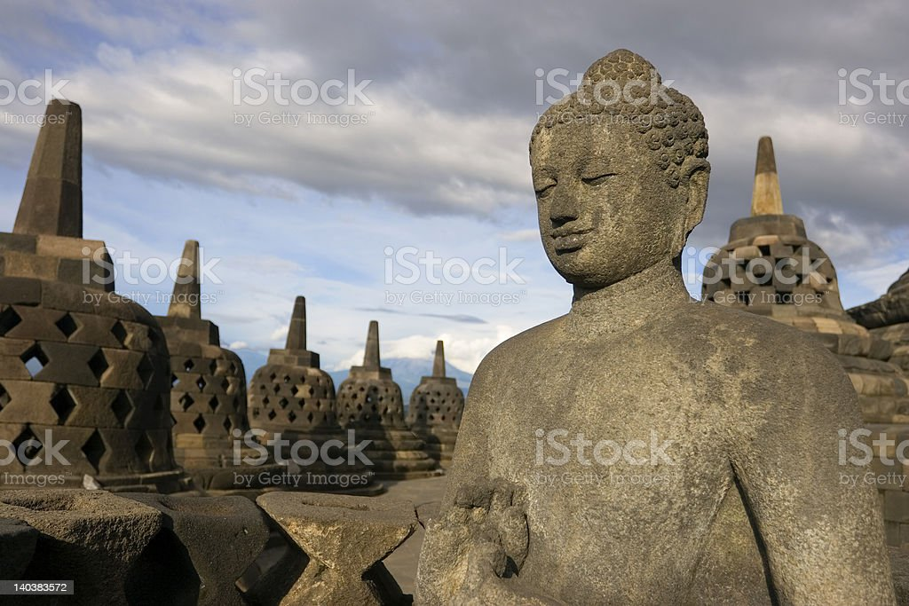 Borobudha2 royalty-free stock photo