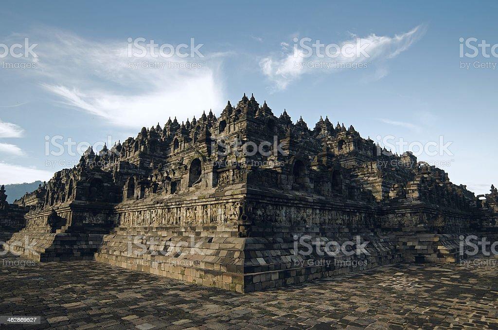 Borobudur stock photo