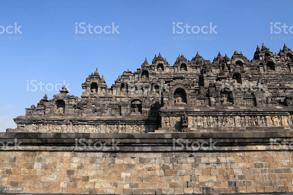 Borobudur royalty-free stock photo