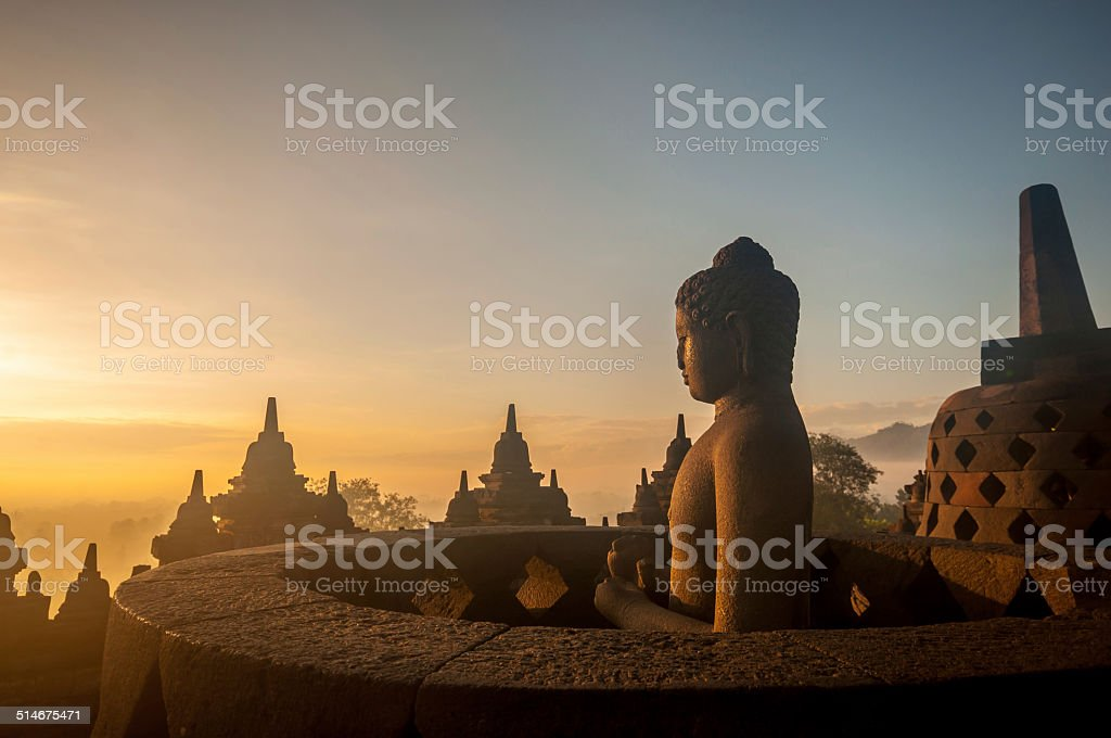 Borobudur Temple stock photo