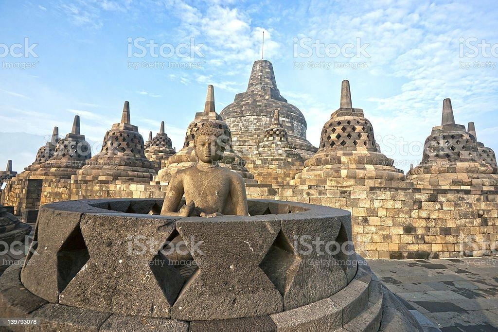 Borobodur-Tempel, Yogyakarta, Java, Indonesien. – Foto