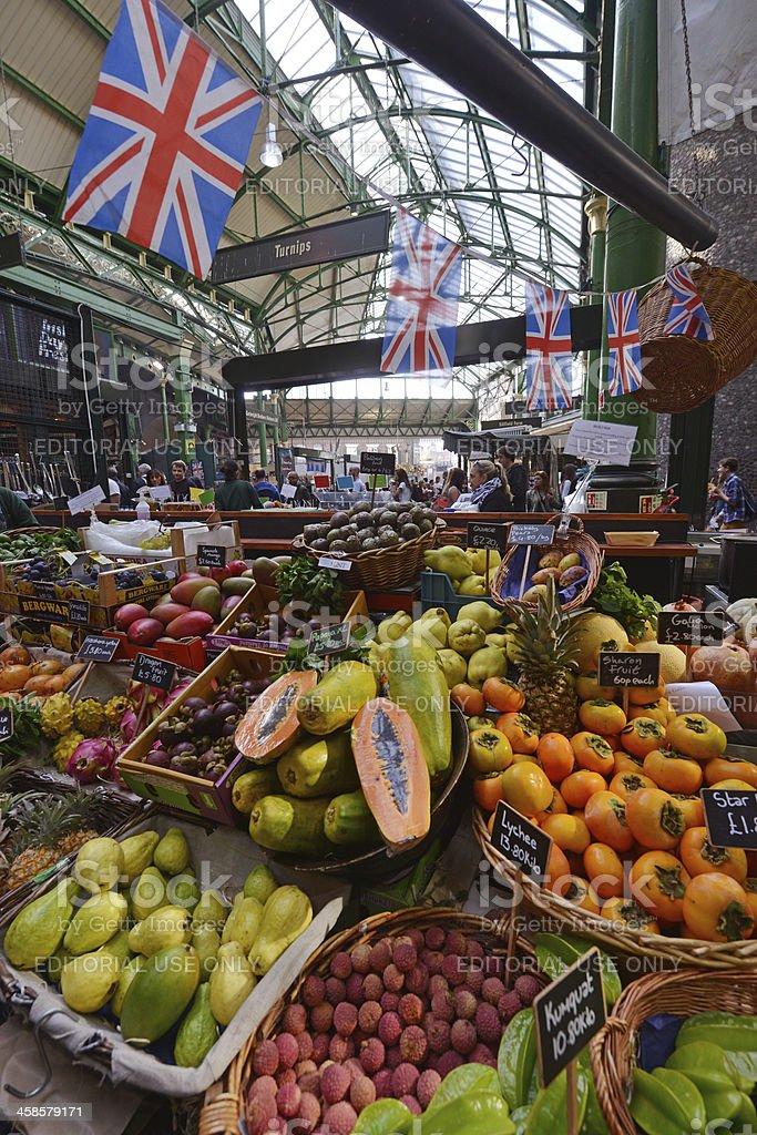 Borough Market exotic fruit royalty-free stock photo