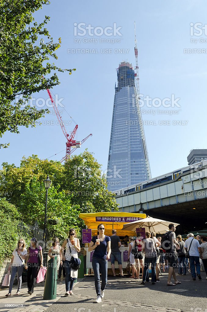 Borough Market, London royalty-free stock photo