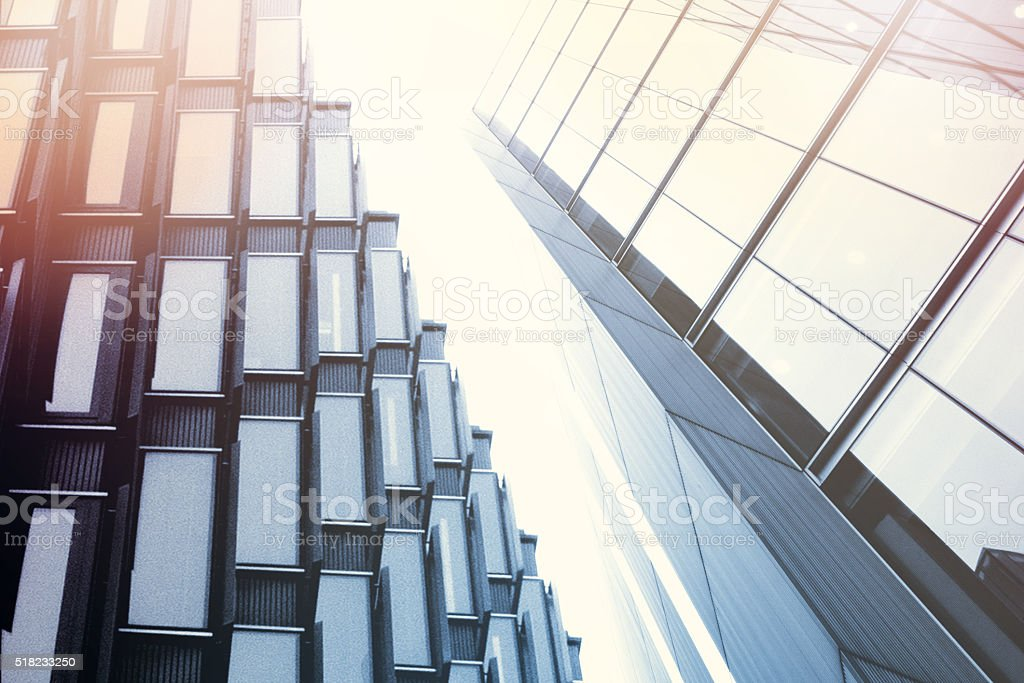 Borough of Southwark with More London Futuristic Architecture stock photo