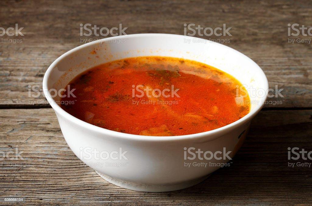 Borscht stock photo