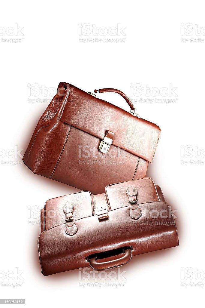 borse da ufficio royalty-free stock photo