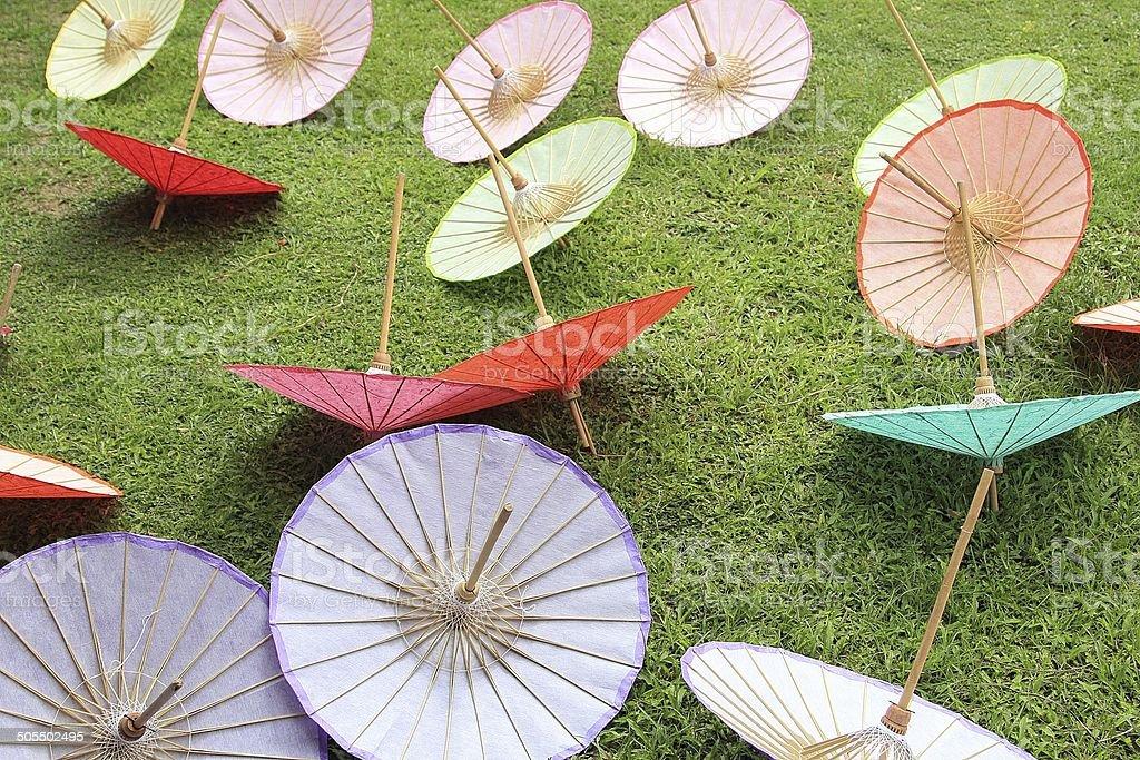 Bosang-umbrella stock photo
