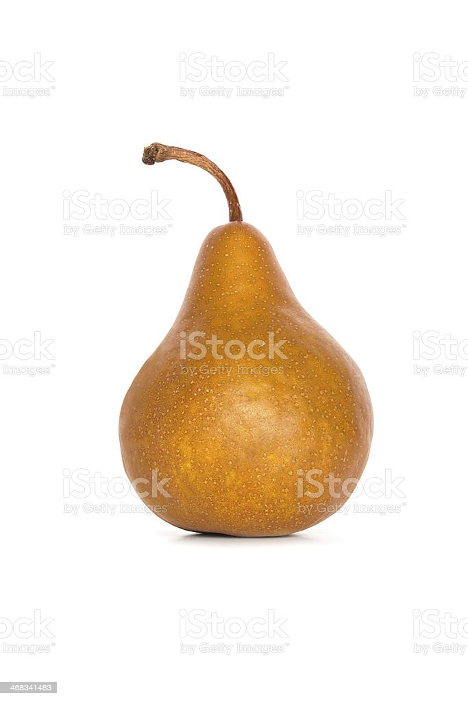 Beurre Bosc Pear stock photo