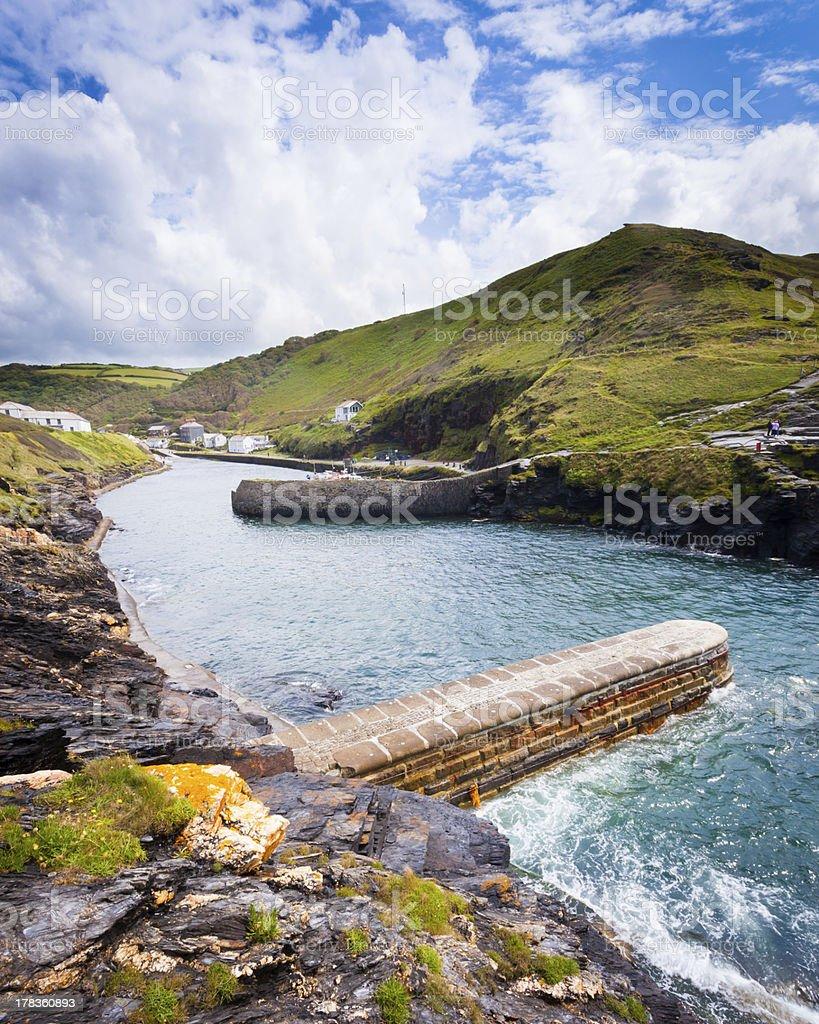 Boscastle Harbour photo libre de droits