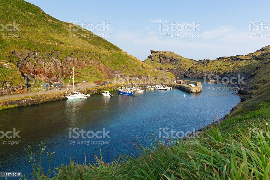 Boscastle North Cornwall England UK stock photo