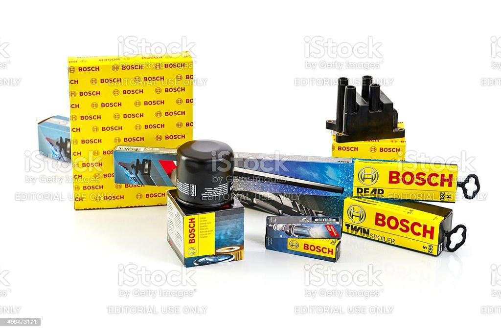 Bosch Auto Parts royalty-free stock photo