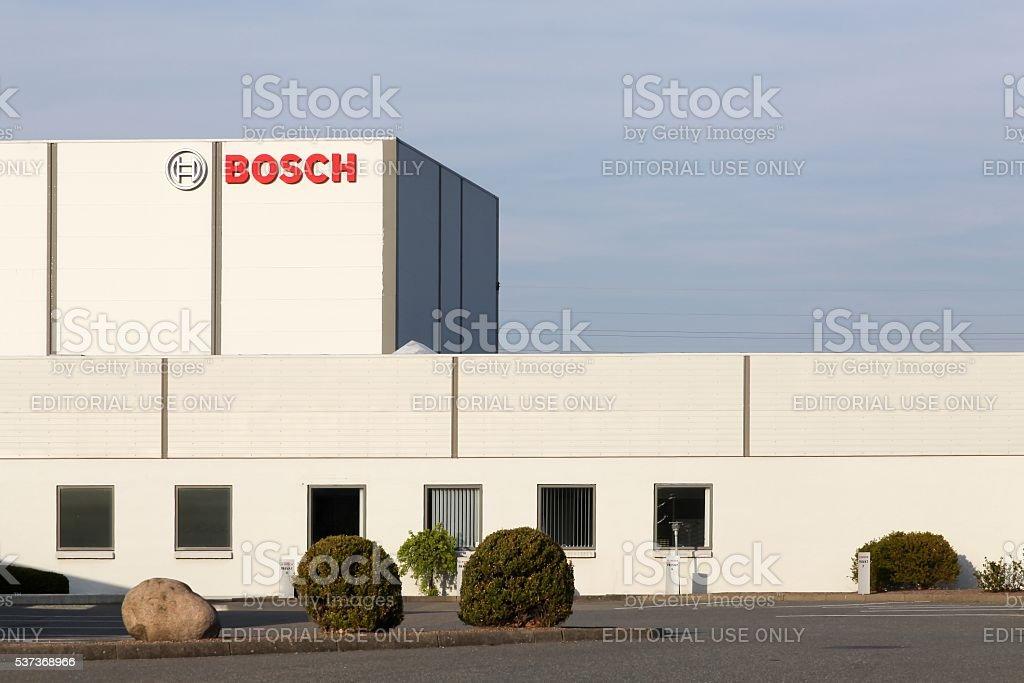 Bosch manufactory in Esbjerg, Denmark stock photo