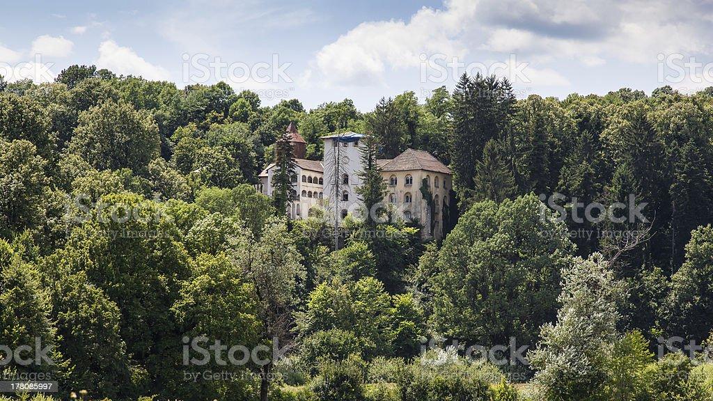 Bosiljevo Stari Grad castle in Croatia royalty-free stock photo