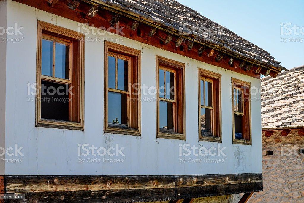Bosnian house stock photo