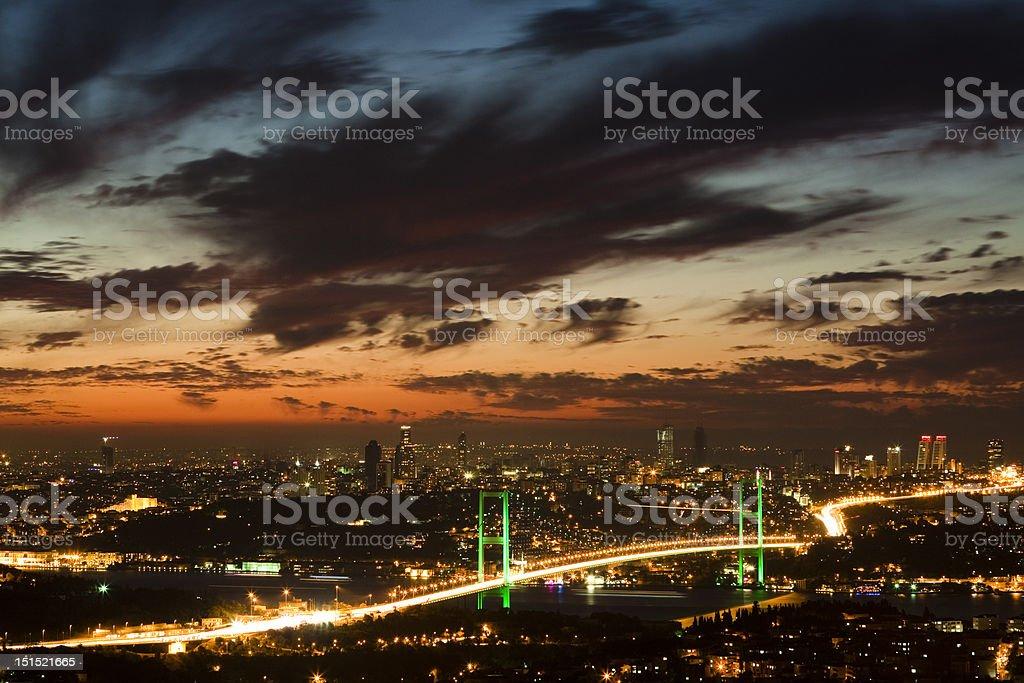 Bosphorus Bridge 3 royalty-free stock photo