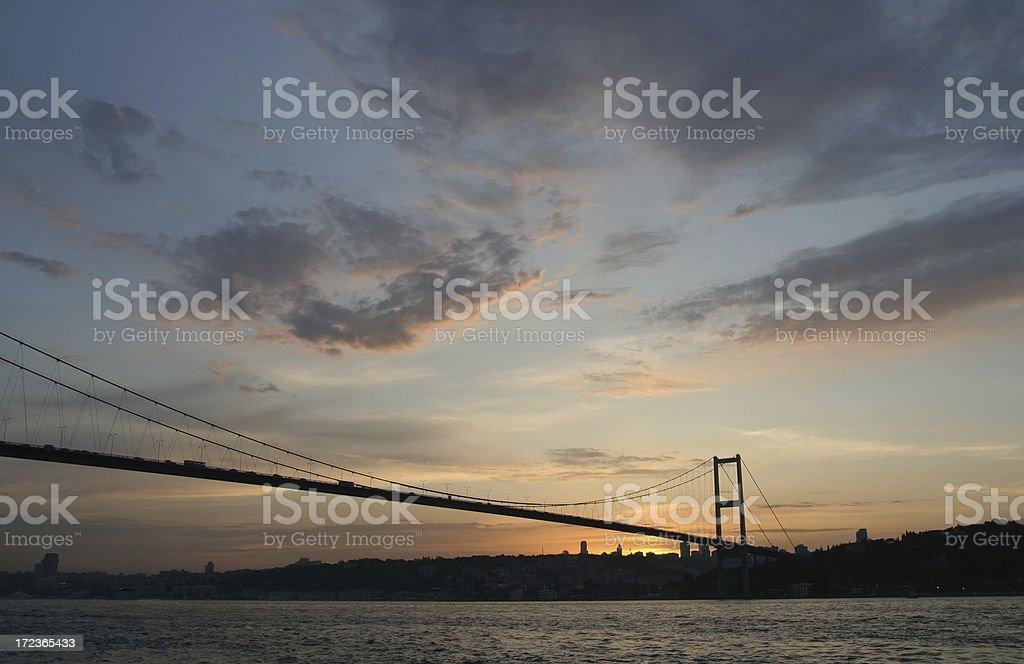 Bosphorus Bridge -8 royalty-free stock photo