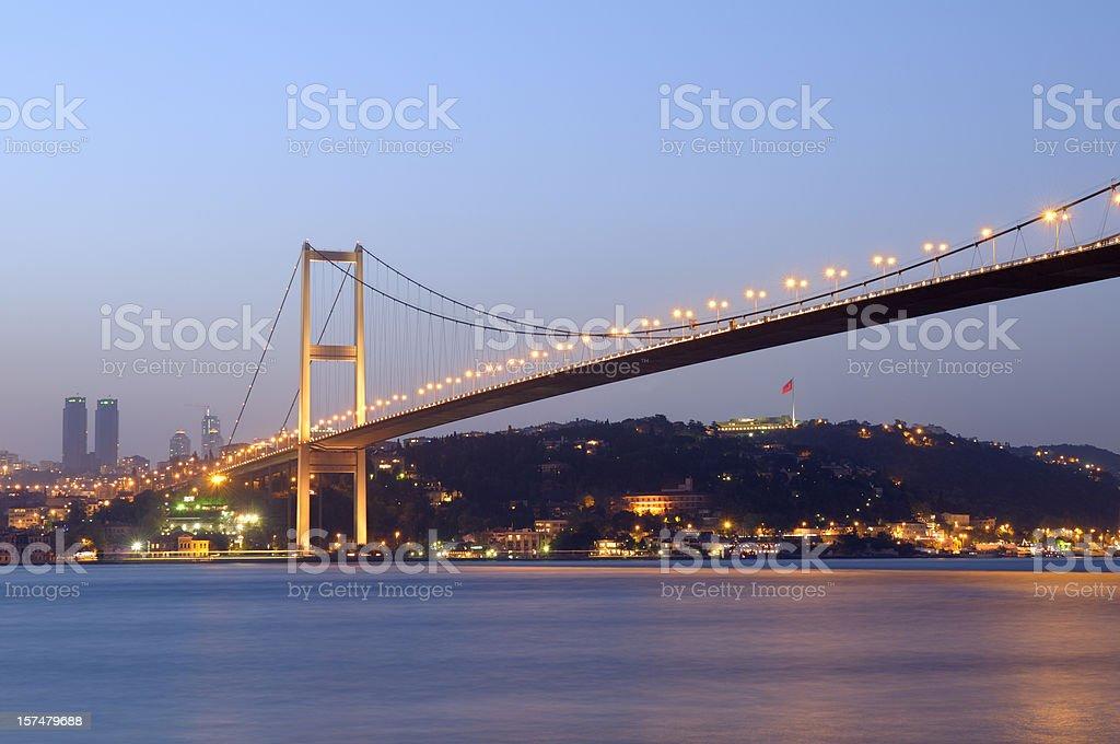 Bosphorus Bridge, Istanbul, Turkey stock photo