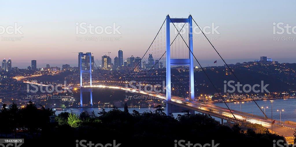 Bosphorus Bridge royalty-free stock photo
