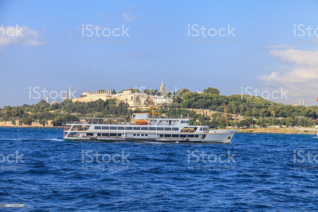 Bosphorus Ferry stock photo