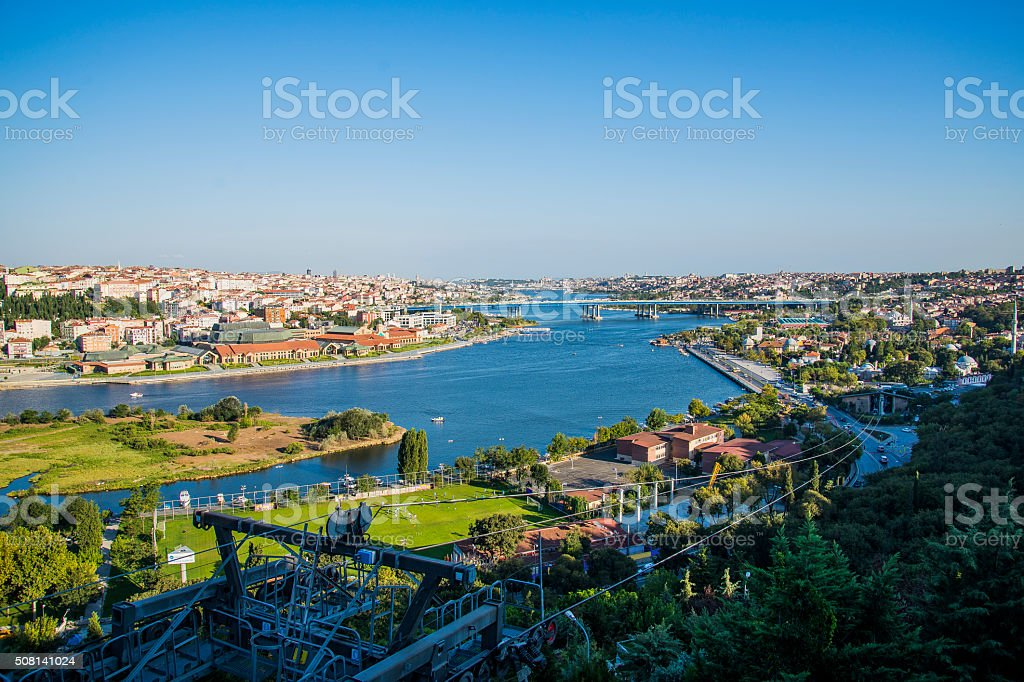Bosphorus in Istanbul, Turkey stock photo