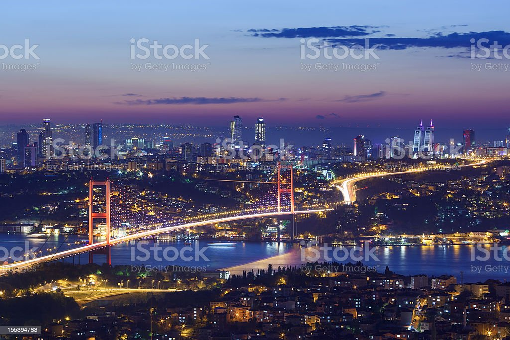 Bosphorus, Istanbul stock photo