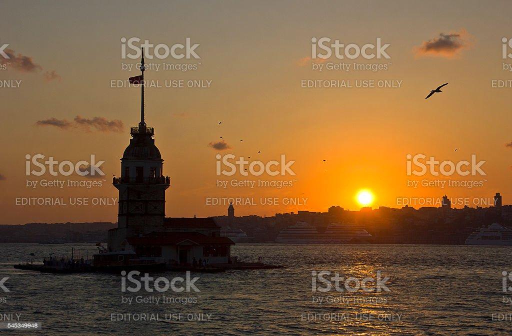 Bosphorus stock photo