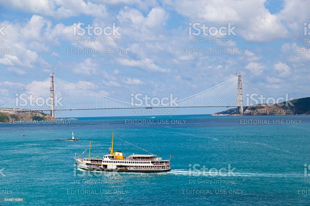 Bosphorus Tour stock photo