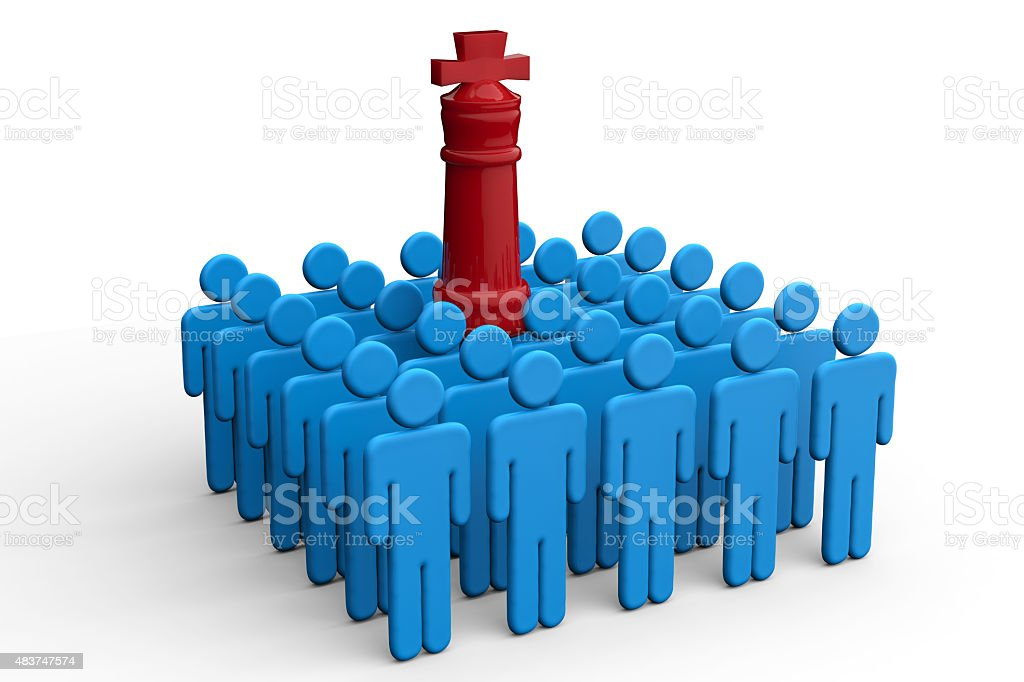 boss and employee concept stock photo