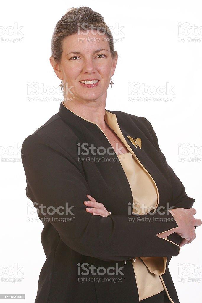 Boss - Businesswoman 2 royalty-free stock photo