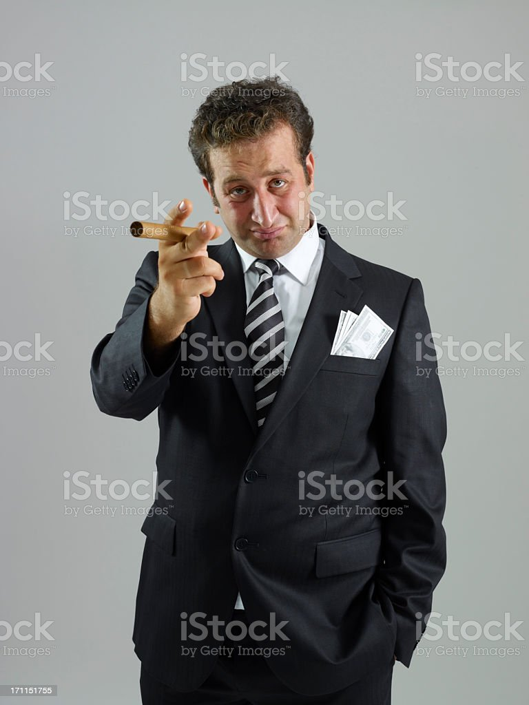 boss calling stock photo