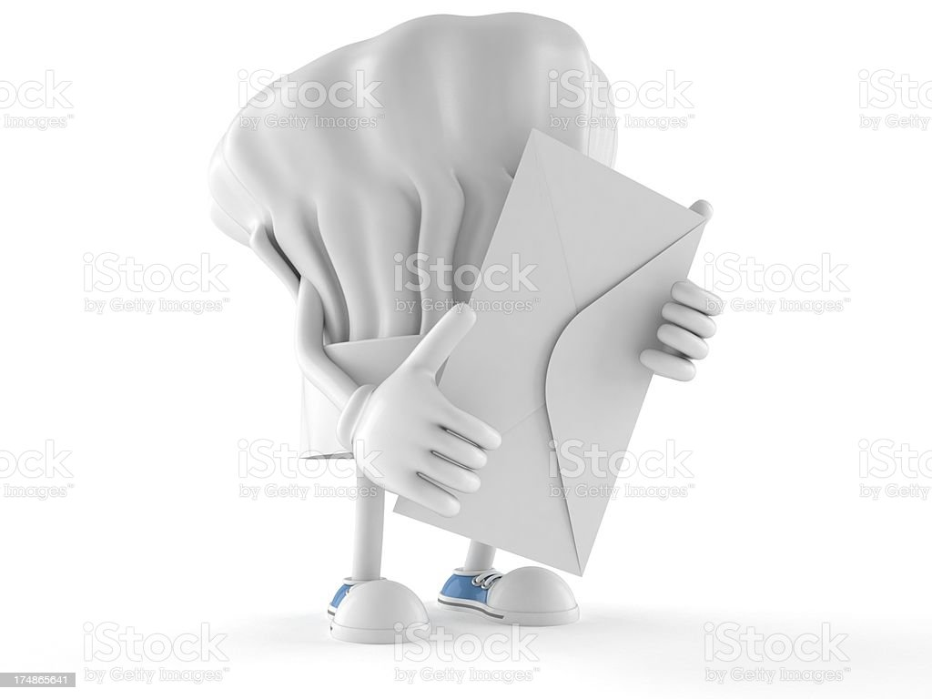 Chef hat royalty-free stock photo