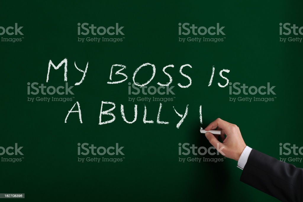 Boss is a Bully XL royalty-free stock photo