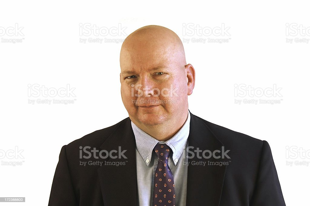 Boss is Skeptical stock photo