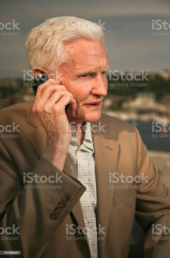 boss on the phone royalty-free stock photo