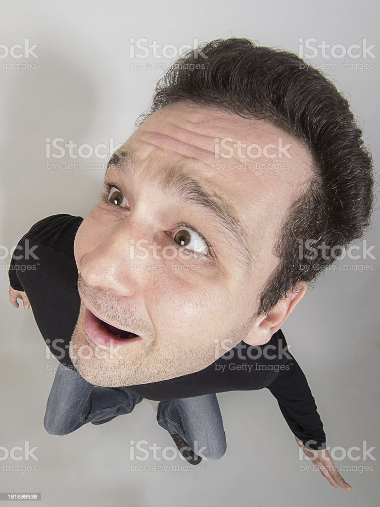 Bossman royalty-free stock photo