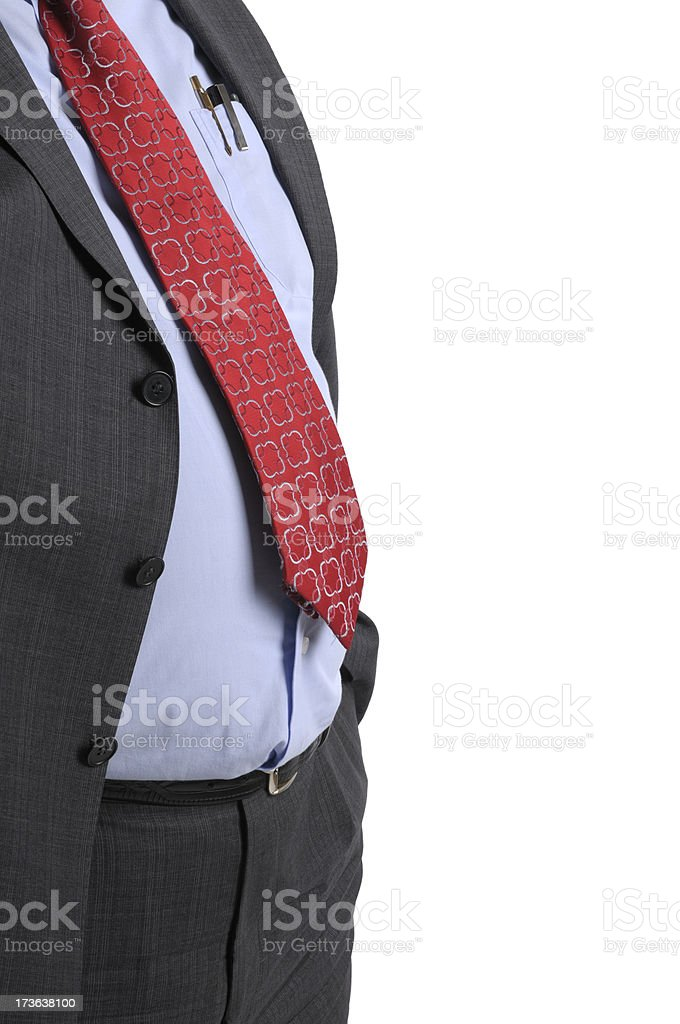 Boss's Belly royalty-free stock photo