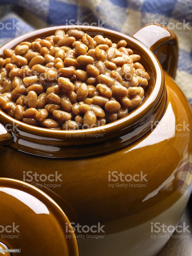 Boston Baked beans stock photo