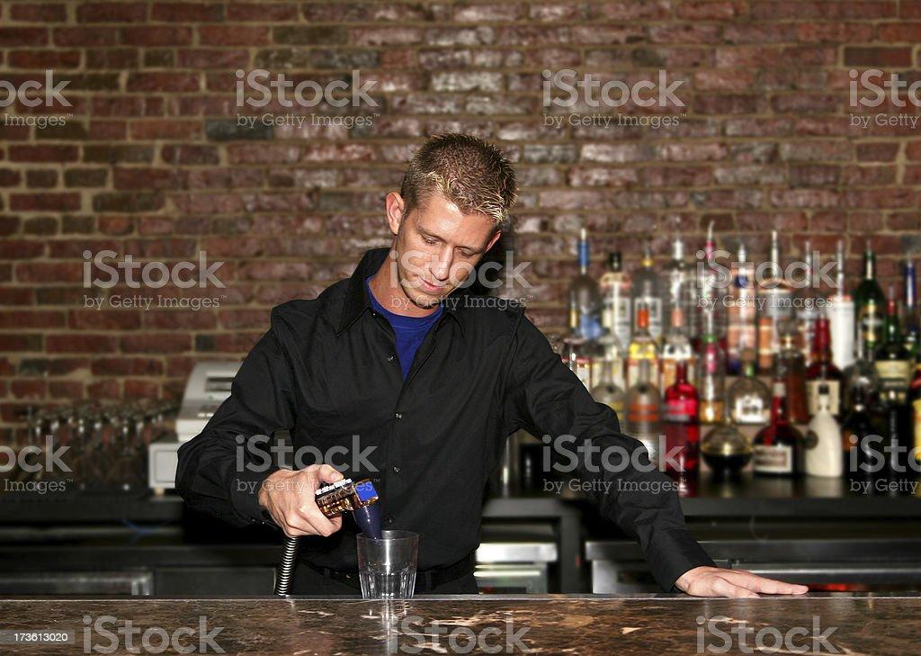 Boston Bartender. royalty-free stock photo