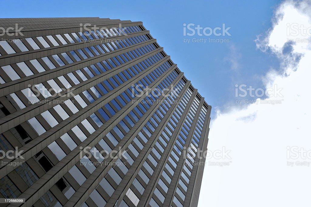 Edificio di Boston foto stock royalty-free