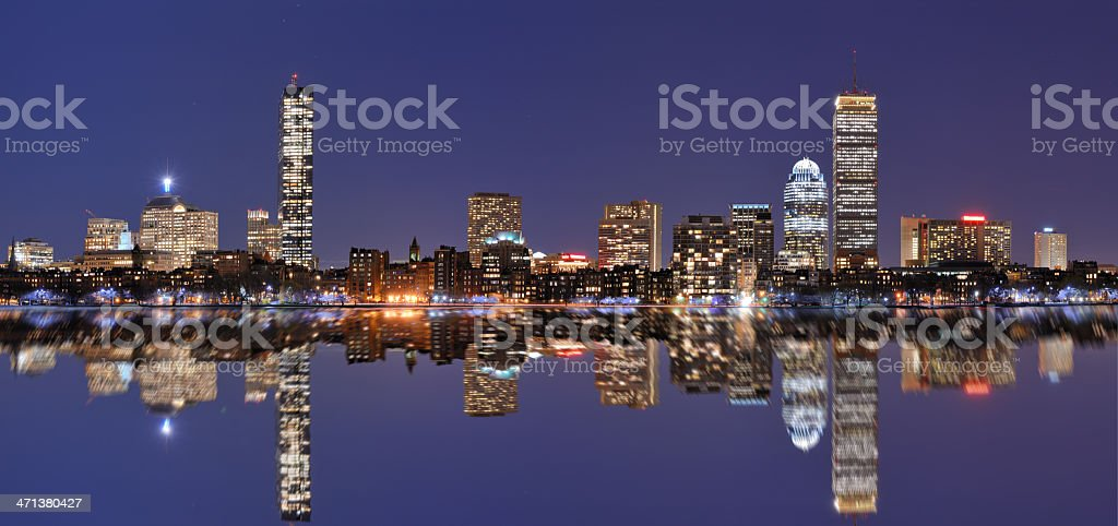 Boston Buildings royalty-free stock photo