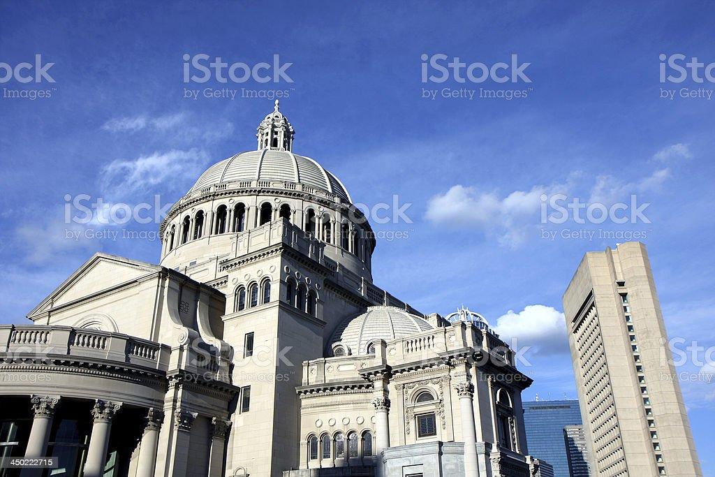 Boston center architecture royalty-free stock photo
