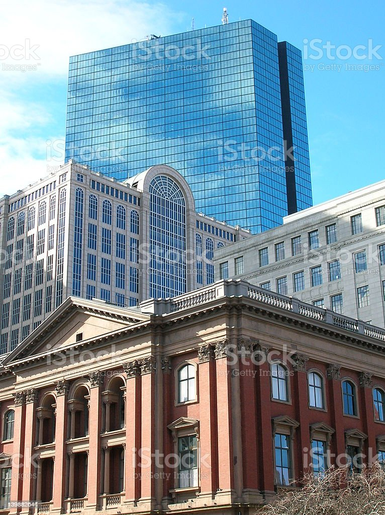 Boston Cluster. stock photo
