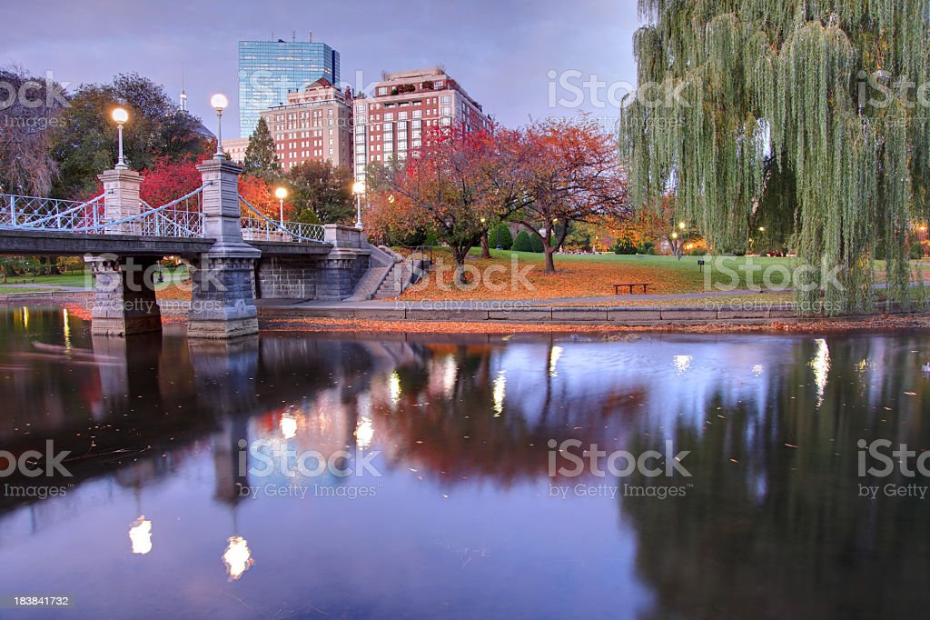 Boston Common royalty-free stock photo