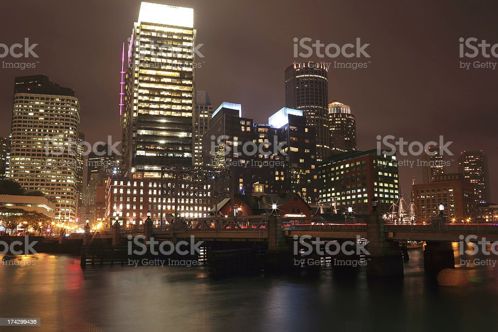 Boston: Downtown royalty-free stock photo